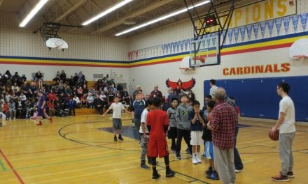 Annual basketball free-throw competition another huge success