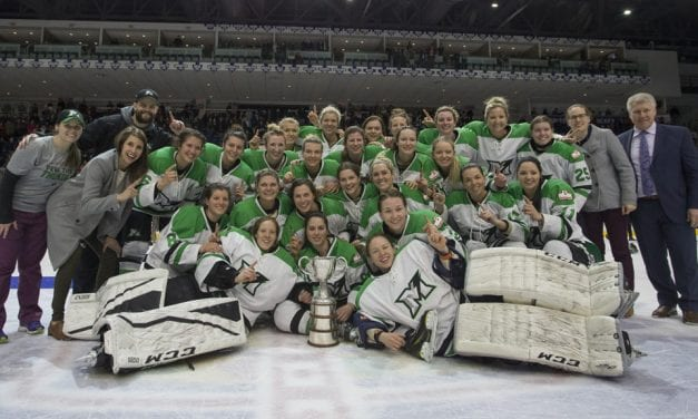 Markham Thunder are CWHL champs