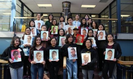 Unionville students paint portraits of kindness