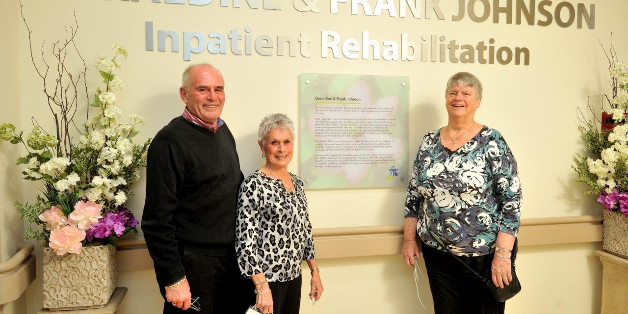 MSH celebrates lasting legacy of Geraldine Johnson
