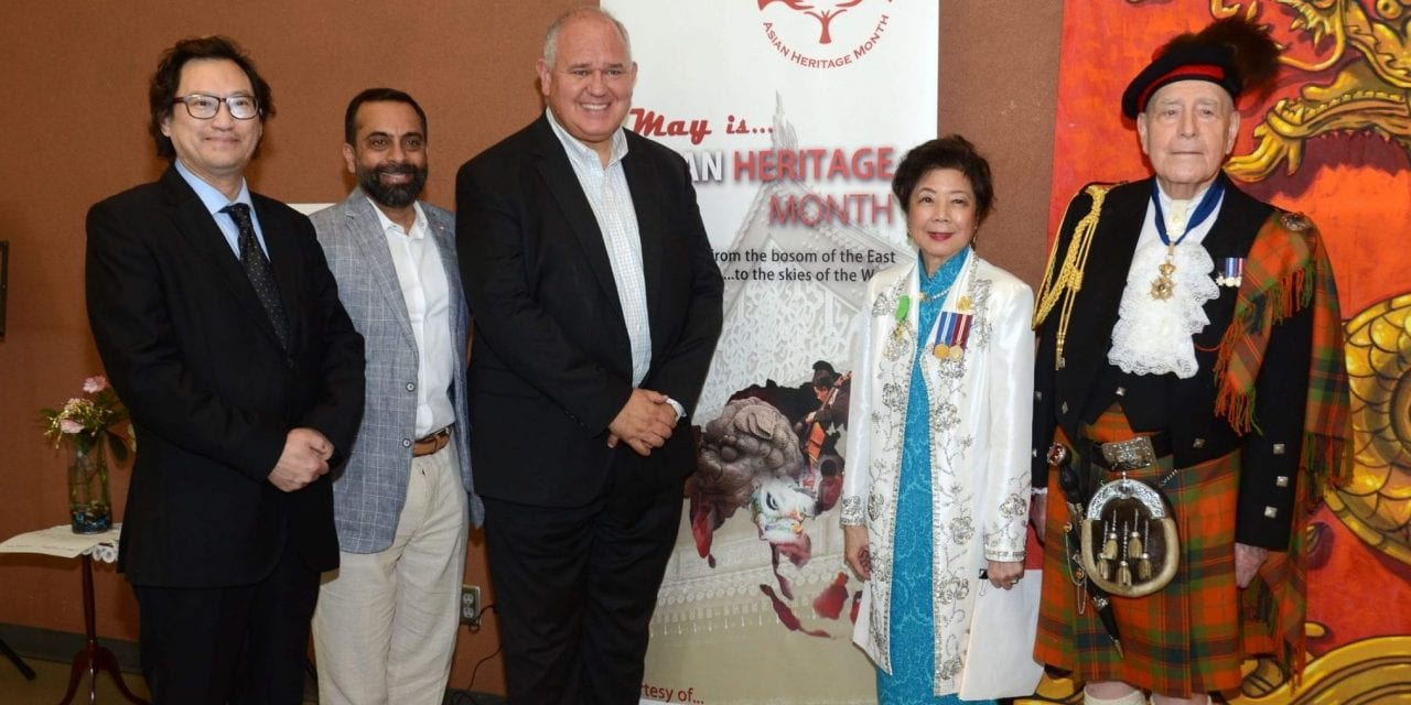 Canadian veterans honoured during Asian Heritage Month
