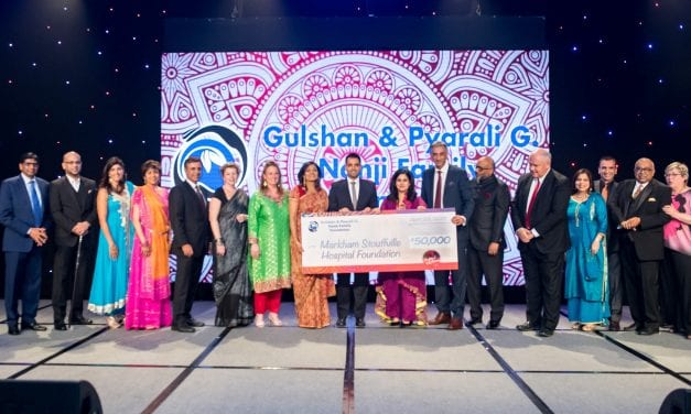 Festival of Colours gala supports cardiac care at Markham Stouffville Hospital
