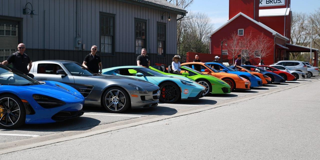 Unionville Exotic Car Show