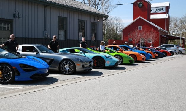 Unionville Exotic Car Show