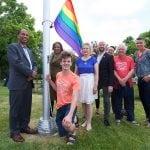 City raises Pride flag