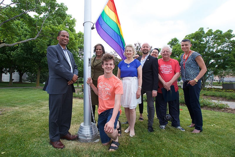 City raises Pride flag