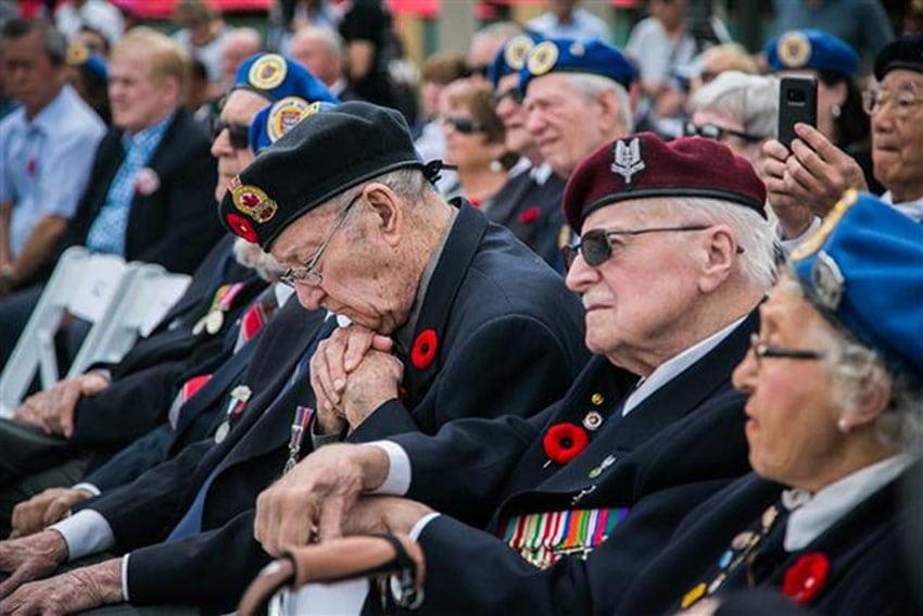 Markham dedicates Veterans Square and Cenotaph