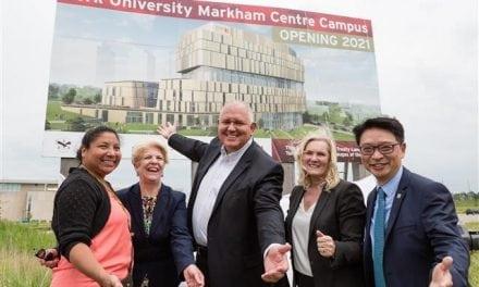Celebrating the York University Markham Centre Campus