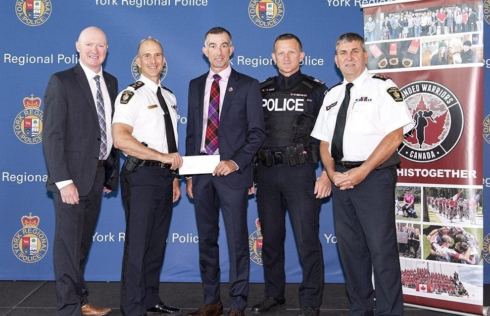 York Police partner with Wounded Warriors Canada