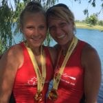 Mother and daughter bring home gold