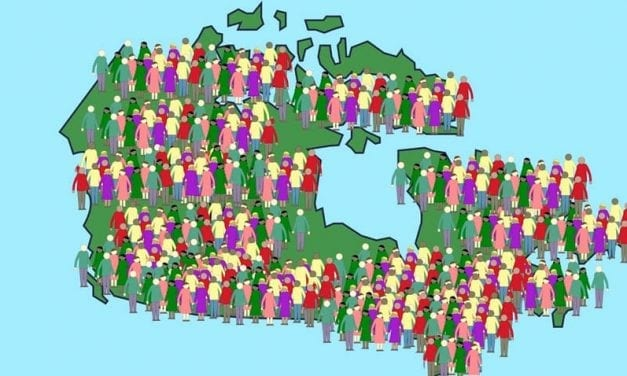 Canada's population growing