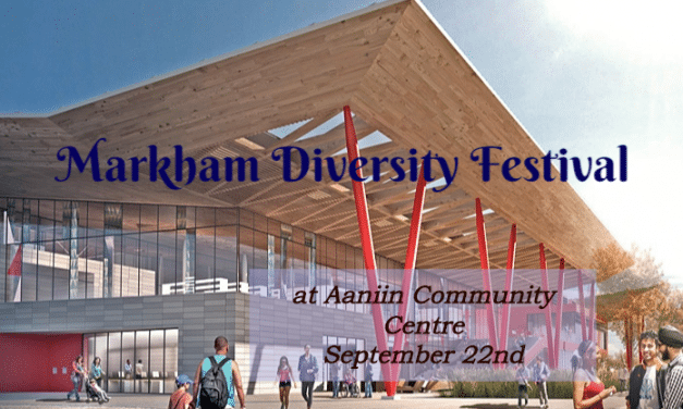 First-ever Markham Diversity Festival to support good causes