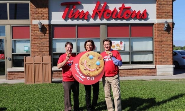 Getting and giving smiles at Timmies for MSH