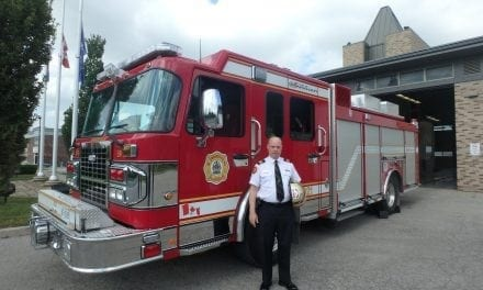 Markham fire chief celebrates 30 years of service