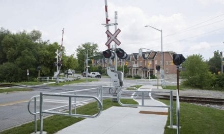 City continues to install new rail safety features