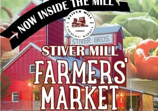 Farmers' market moves inside