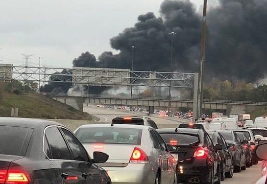 Multiple fatalities in Hwy 407 tanker collision