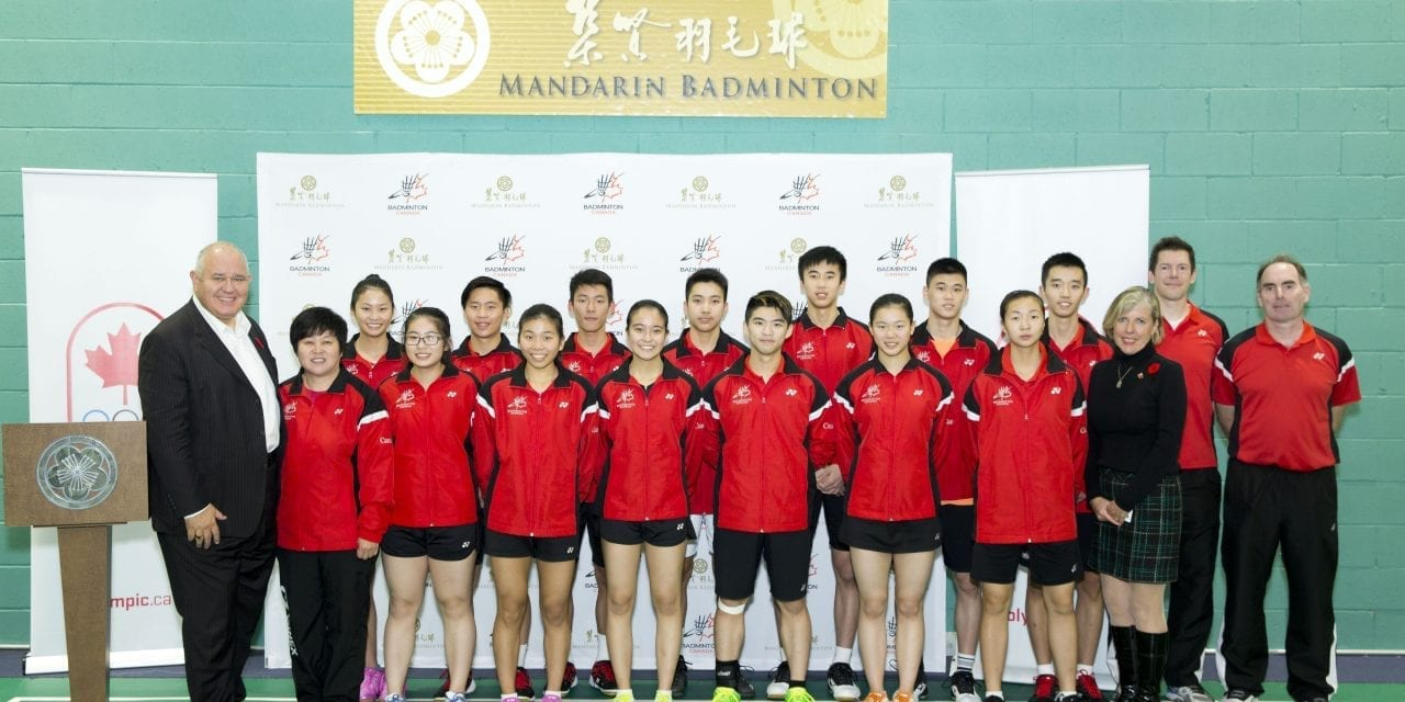 Cheer on Team Canada at world badminton meet