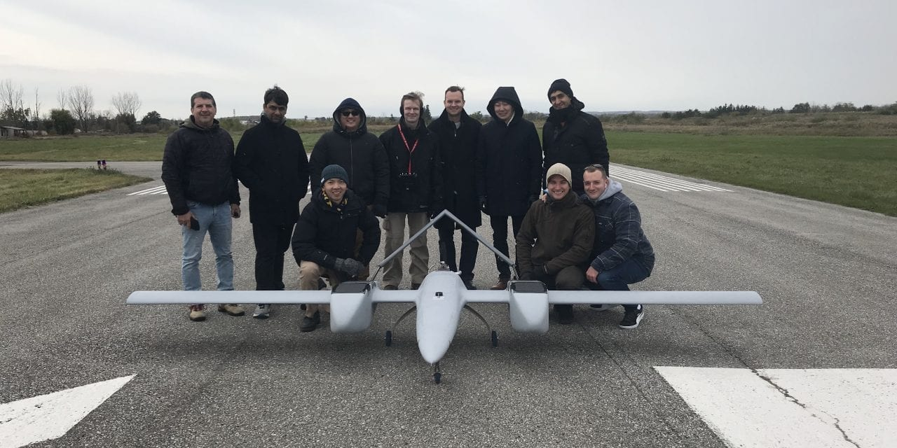Sky's the limit for drone testing