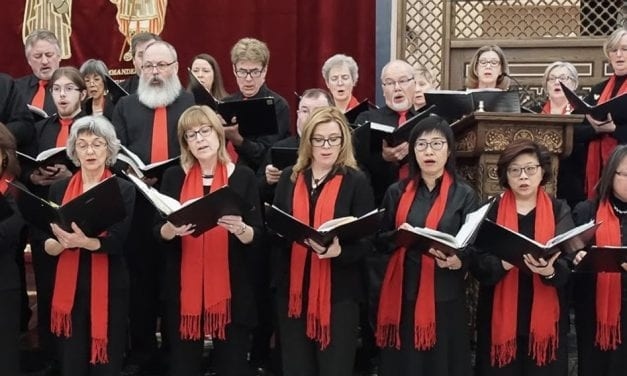 Village Voices 30th anniversary Christmas concert