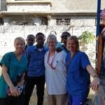 On a mission in Haiti