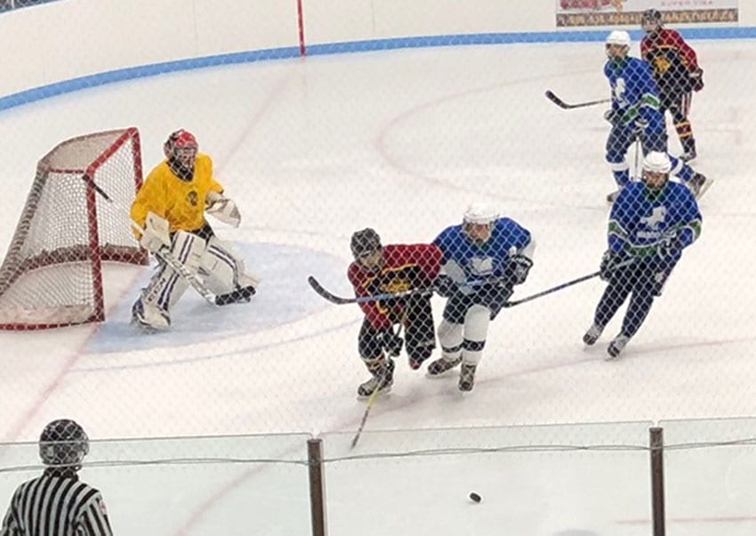 St. Augustine shows its mettle on the ice