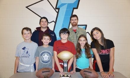 MDHS student shares his love of football