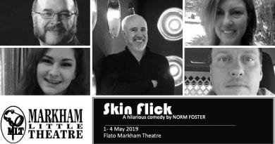 Markham Little Theatre gets cheeky with Skin Flick