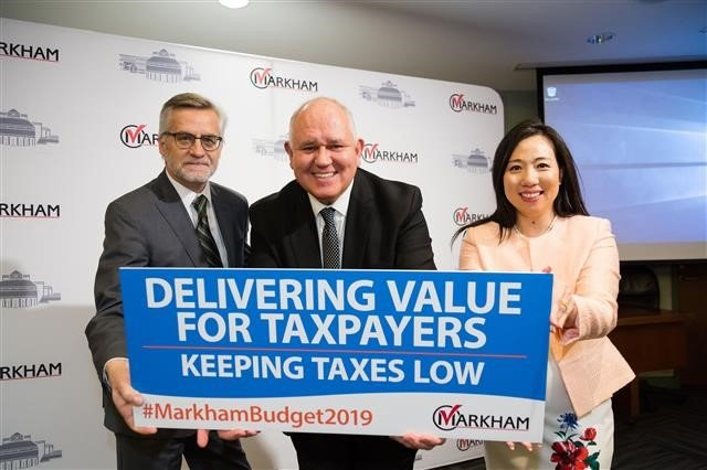 Markham approves 1.97 per cent tax hike