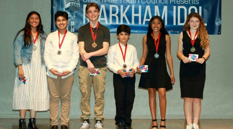 13th Annual Markham Idol winners