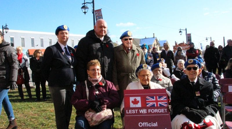 Markham salutes veterans with Main Street banners
