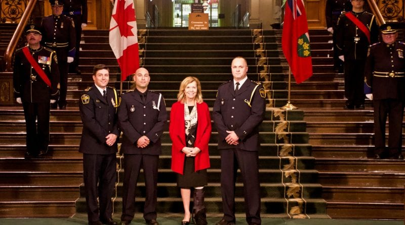 York paramedics recognized for bravery, service