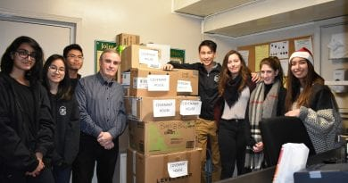 Unionville Youth Council helps at-risk youth with Covenant House Christmas Drive