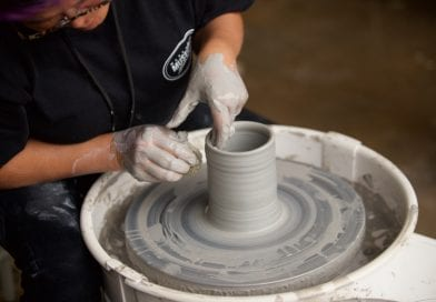 Pottery classes at the museum