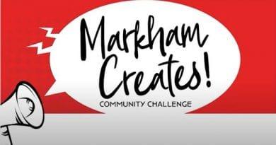 Join the Markham Creates Community Challenge