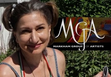 McIntosh and the Markham Group of Artists during the COVID pandemic: Morgan Pool art project