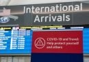 Increased restrictions for international travel