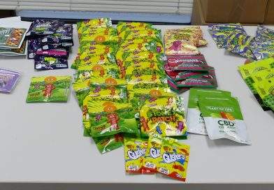 Cannabis 'candy' seized from convenience store