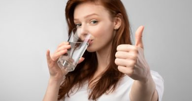 Hydration is just as important as nourishing your body with healthy food