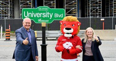 Markham unveils University Boulevard